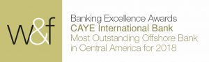 Caye Bank awarded best offshore bank in Central America.