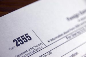 Foreign Earned Income Exclusion Form 2555