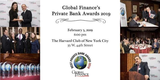 Global Finance Magazine Private Bank Awards